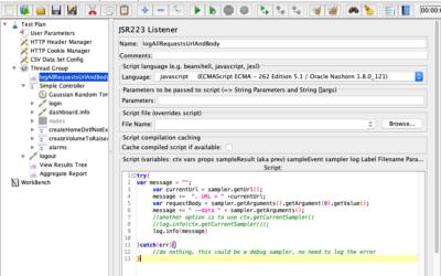 JMeter – logging the full request